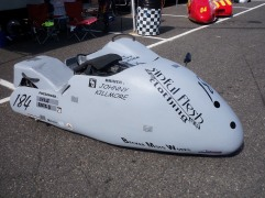 racing sidecar motorcycle