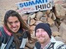 John and Gina at the Summit of Pikes Peak, 2010.