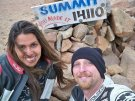 John and Gina at the Summit of Pikes Peak, 2010.