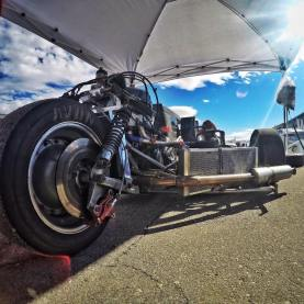 Shelbounre sidecar racer