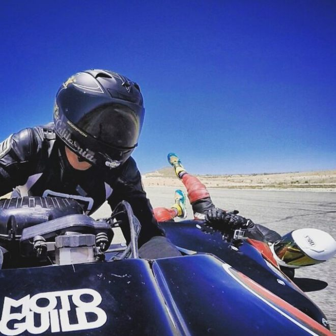 sidecar racing save matt blank falls from sidecar187