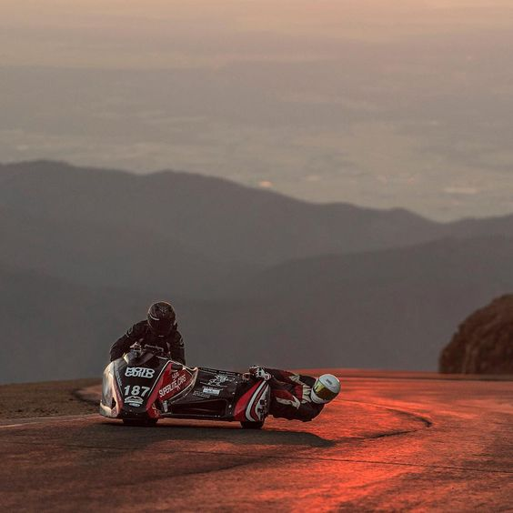 Pikes Peak ppihc racing sidecar sidecar187 practice