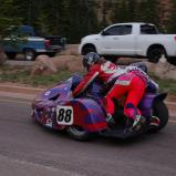 Subculture Racing was beset by mechanical problems and a crash in practice. Photo courtesy Rising Sun Racing