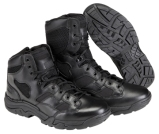 Tactical boots offer many designs, treads, heights, and some are actually not black.