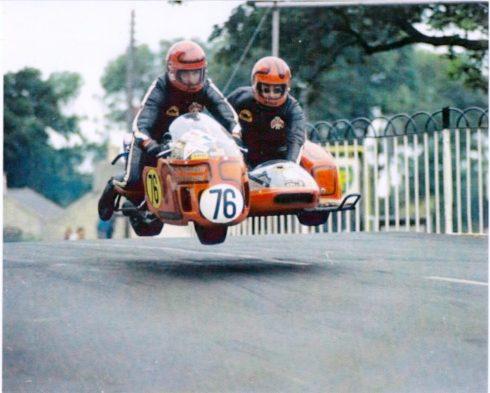 joe & Alma Isle of Man TT Sidecar