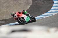 Chaz Davies Ducati Laguna Seca WSBK 2017 Corkscrew