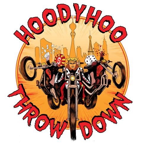hoody hoo throwdown las vegas logo