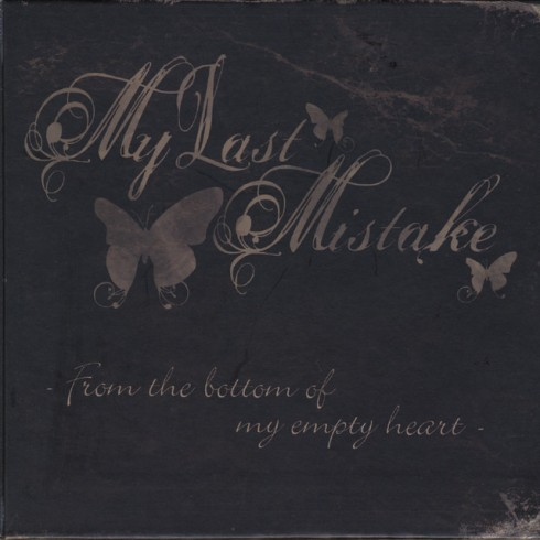 my last mistake album cover