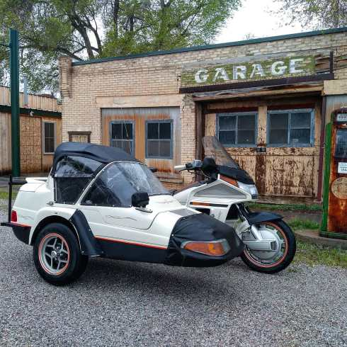 motorcycle sidecar honda goldwing california